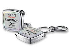 KOMELON Keychain Tape Measure 2M x 6mm Rulers KMC-14C Accessory KOREA MADE Tools