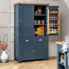 Westbury Blue Painted Large Kitchen Larder Pantry Cupboard - BRAND NEW! - BP60