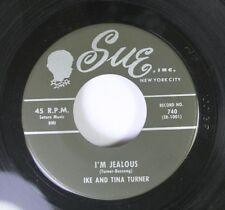 R&b Mod 45 Ike And Tina Turner - i ' M Celos / You`Re My Baby On Sue