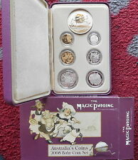 "2008 Baby Proof Set - 6 Coin Set - MAGIC PUDDING Series "" RAM "" VERY RARE"