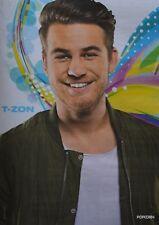 T-ZON - A4 Poster (ca. 21 x 28 cm) - YouTube Star Clippings Fan Sammlung NEU