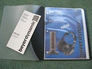 Beyerdynamic IR Headphone Service Manual Copy IRS890 RRS433 IRS790