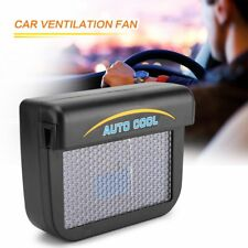 2018 Solar Powered Car Window Windshield Auto Air Vent Cooling Fan System Cooler