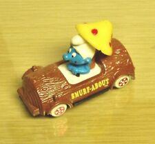 Vintage ERTL -Smurfs  Smurf-A-Bout -EX