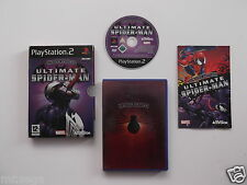 "Ultimate SPIDERMAN LIMITED EDITION PER PLAYSTATION 2 ""MOLTO RARO & difficili da trovare"""