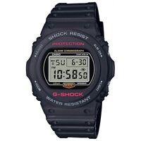 Reloj Casio G-SHOCK DW-5750E-1DR - Estuche Alta Gama - 20 BAR Alarma Multiple