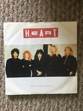 "Vinyl 7"" Single Heart Who Will You Run To"