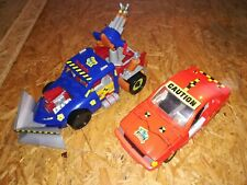 Tyco The Incredible Crash Dummies Junkbot Wrecker Bash N Bomber Crash Car
