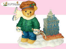 Cherished Teddies JAMES Part Of The Winter Bear Festival Collection OVP NEU!!!