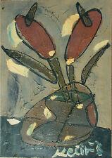 Bohumil Samuel Kecir (1904-1987) Czech Cubism - Kaktusblume (i 55)