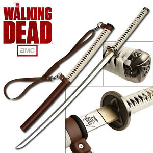 Collection Japanese Katana Extremly Sharp Walking Dead Michonne's Sword AU