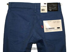NWT LEVI'S 511 SLIM FIT COMMUTER CHALK BERRY STRETCH DENIM JEANS W30 L32