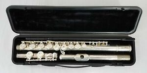 LJ Hutchen Mark II Flute w/ Case and Cleaning Rod