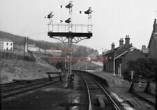 PHOTO  LMS CORKICKLE RAILWAY STATION 4/4/70 VIEW FROM THE CAB OF A DMU FURNESS R