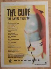 The Cure swing tour 1996 Presseanzeige komplette Page 27 x 38 cm Mini Poster