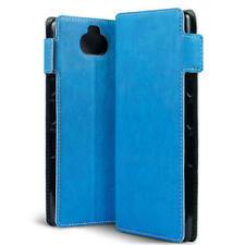 Sony Xperia 10 Low Profile Wallet Book Case BLUE High End ION ™ Cover  MK5