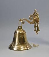 9977155 Golden Wand-Glocke Door Bell Polished Brass