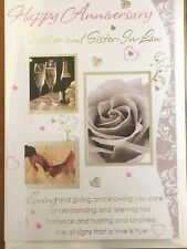 Anniversary Card for Brother & Sister-in-Law