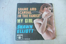 "SHAWN ELLIOT""SHAME AND SCANDAL-disco 45 giri ROULETTE italy 1967 SEY COVER"