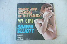 """SHAWN ELLIOT""""SHAME AND SCANDAL-disco 45 giri ROULETTE italy 1967 SEY COVER"""
