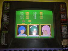 REAL MAHJONG ALBA  arcade game board   c8a