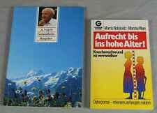 Buch: Gesundheitsratg. für Naturheilmittel 1994 + Ratgeber Osteoporose 1984 /237
