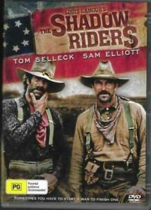 The Shadow Riders DVD Tom Selleck New and Sealed Australian Release