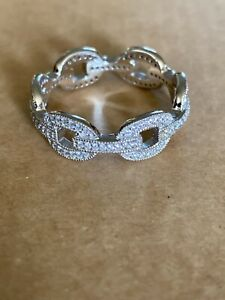 Vanna K for Bella Luce sterling and cubic zirconia ring