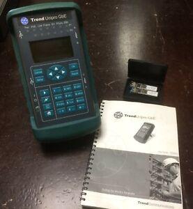 Trend Unipro GbE Tester ethernet 1Gb con custodia, manuale, moduli SFP