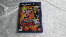 Jeux PS2 Naruto Shippuden Ultimate Ninja 4 en Français en boite PAL