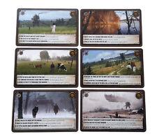 ● * * Scythe * * ● ✩ PROMO PACK Encounter CARDS 37-42 ✩ NUOVO! ✔ ツ cibo 2017