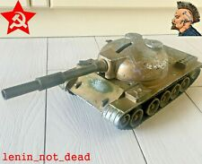 TANK T-64 Vintage ANTIQUE rare military Toy metal USSR SOVIET RUSSIAN