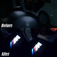 4x M Logo Led Door Courtesy Shadow Projector Light for BMW F30 3 M3 M4 2013-2014