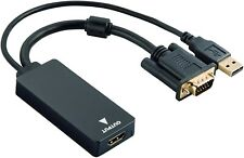 Hama Convertisseur VGA+USB vers HDMI™