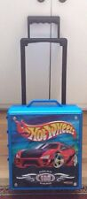 Hot Wheels 100 Car Rolling Storage Case With Telescoping Handle