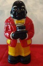 Black Americana Vintage Butler Cookie Jar