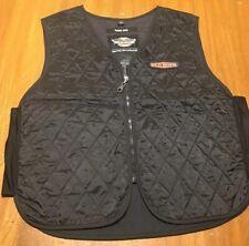 Harley Davidson quilted liner vest lining mens XL black