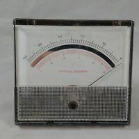 Vintage Weston Model 194LT 0-100 Optical Density Gauge Panel Meter Steampunk