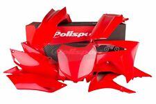 Honda Kit PLASTIQUE Crf 250 R 2014 - 2017 Crf 450 R 2013 - 2016 Tout Rouge 90628