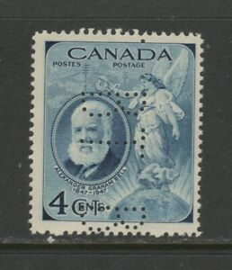 CANADA  PERFIN BELL: #274  MINT NH