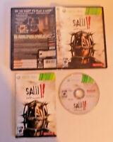 Saw II: Flesh & Blood complete good shape (Microsoft Xbox 360, 2010)