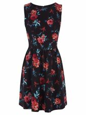 Oasis Multi Floral Tapestry Print Dress 16