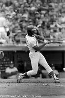 2-Original 35MM B&W Negative, NY Mets George Foster April 13, 1982