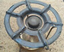 Vintage Brass stove Cooker 21cm High Plate 21 cm Diameter