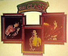 Vintage 80s The Clash Iron-On Transfer Punk Ska Last One! SUPER RARE!