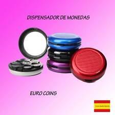 Purse round rigid hard portamoneadas organiser coin euro