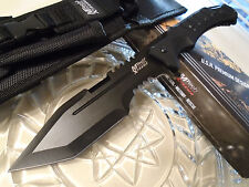 Mtech Xtreme Tanto Combat Knife 3 Edge Full Tang 440C MX-8144 MOLLE Sheath G10