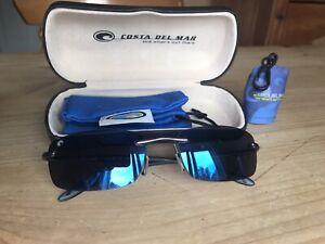 Costa Del Mar Sunglasses Thresher TH22 Blue Polarized Lenses Fishing Sailing