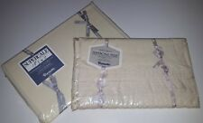 Wamsutta Beacon Hill Twin Flat Fitted Sheet Set Supercale Vintage New Nos Usa