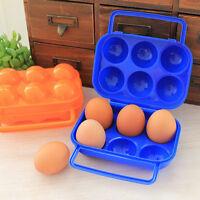 Ei Eierbehälter For 2/6/12 Eier, Eierträger Eierbox Tragbar Egg Holder Reis C5Z8